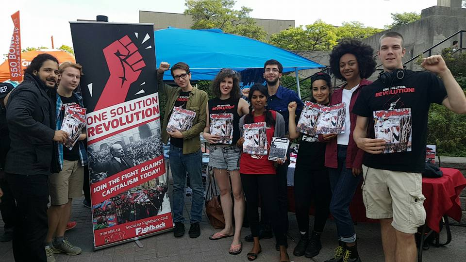 Canada: Huge Success for Socialist Fightback Students