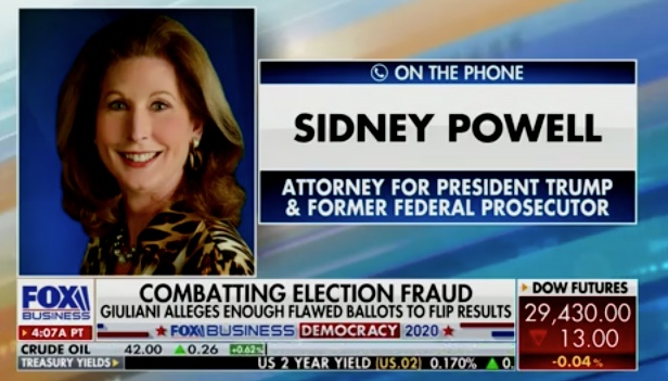 Sidney Powell: Tucker Carlson Was Insulting, Demanding and ...