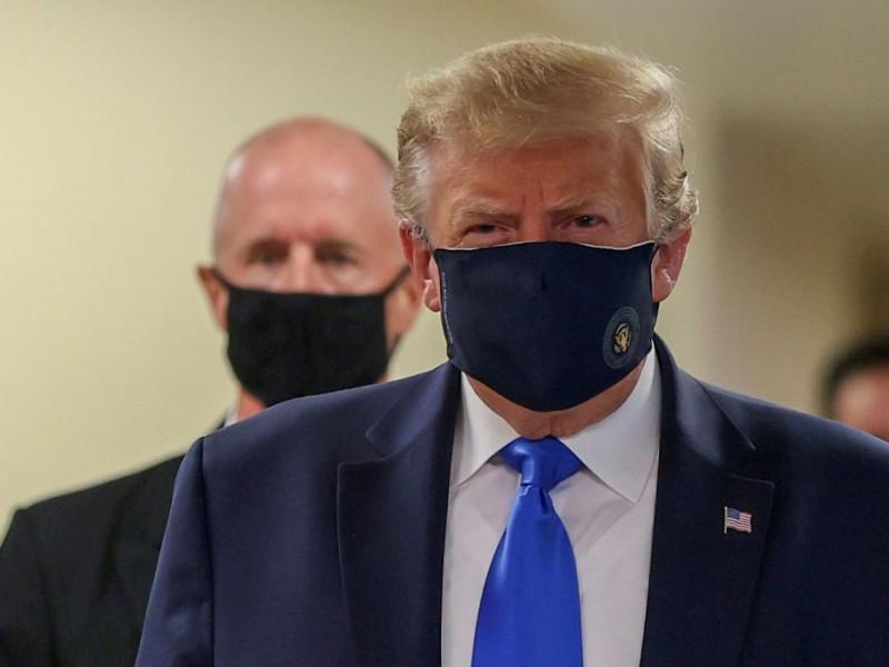 Hospitalizan a Trump en el Centro Médico Militar Walter ...