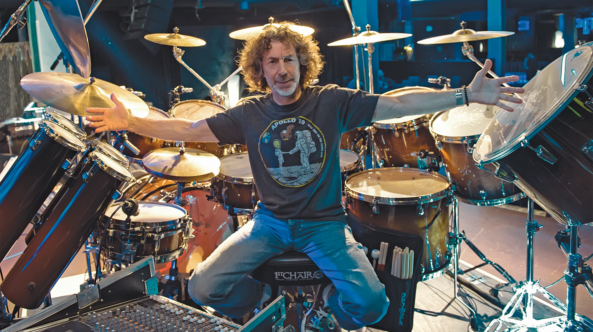 Simon Phillips - Modern Drummer Magazine
