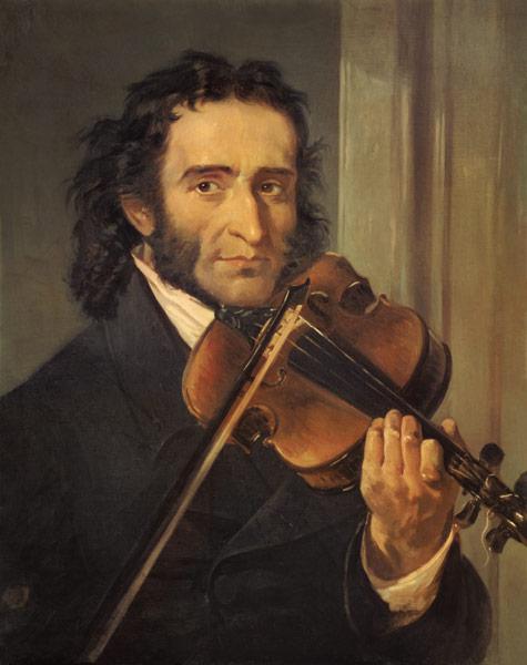 Portrait of Niccolo Paganini (1782-1840) - Italian School ...