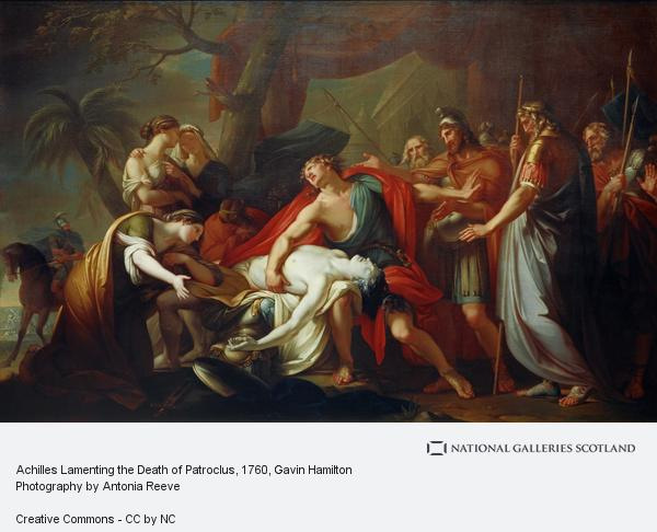 Achilles Lamenting the Death of Patroclus | National ...