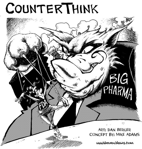 The FDA and Big Pharma (comic)