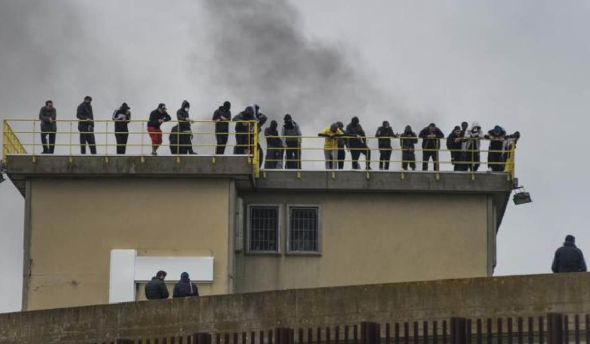 Coronavirus, rivolta nel carcere di Rieti: 3 detenuti sono ...