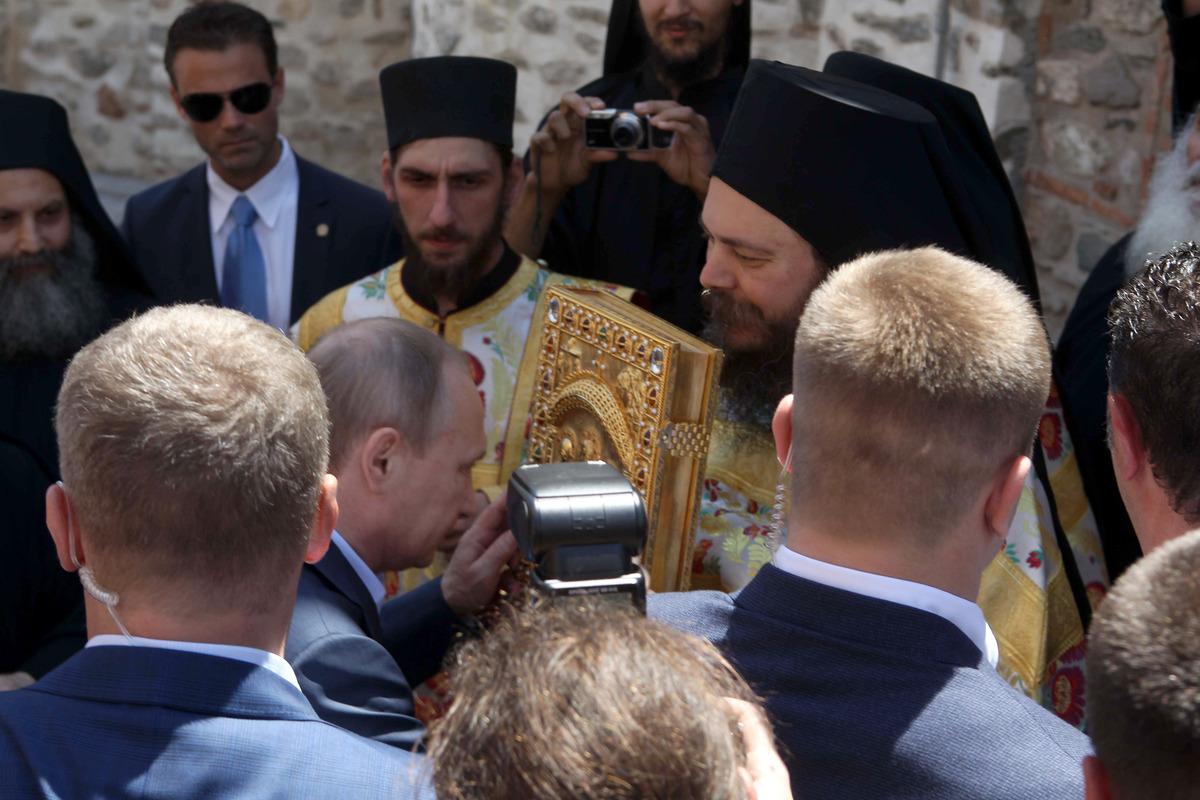 Ο Πούτιν στο Άγιο Όρος: Ελλάς - Ρωσία - Ορθοδοξία και ...
