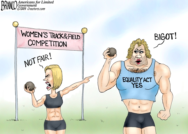 WATCH: Female athlete speaks out against transgender ...