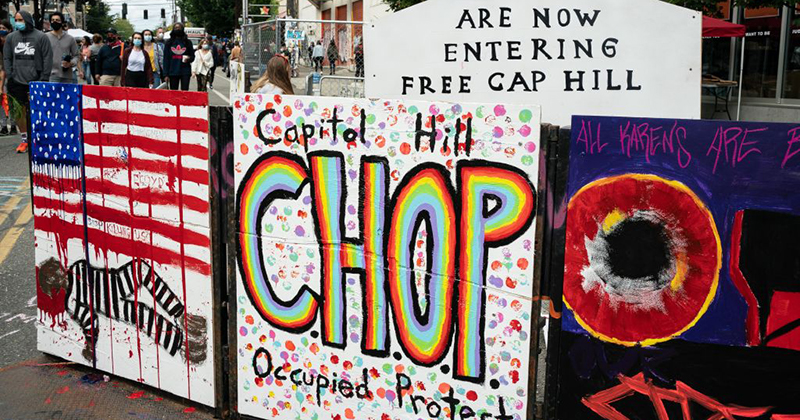 Those not on board with French Revolution were CHOPPED, CHAZ protesters warn after renaming ...
