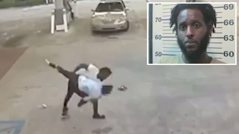 Shock Video: Woman Body-Slammed at Gas Station During ...