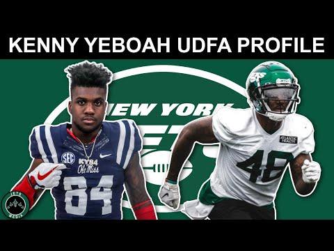 Kenny Yeboah New York Jets UDFA Profile - NFL Beast