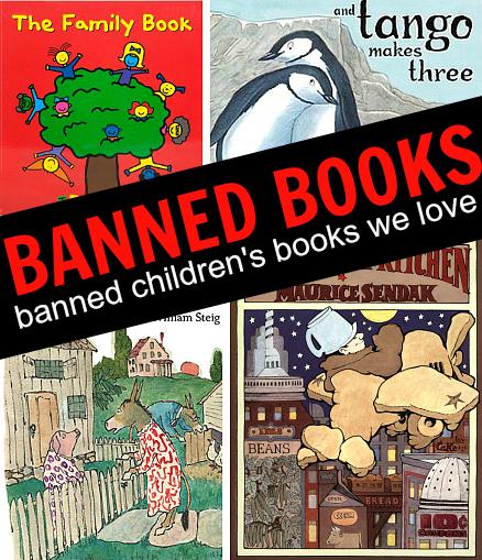 Banned Children's Books We Love