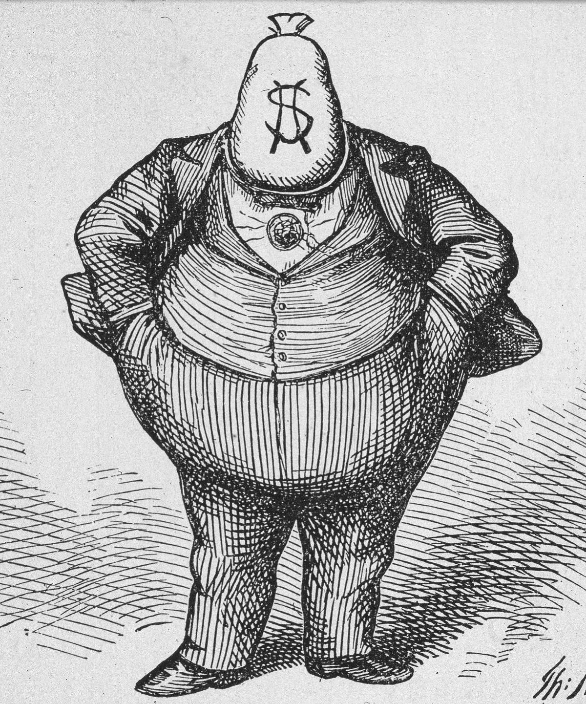 How a series of political cartoons by artist Thomas Nast ...