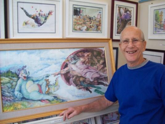 'Dragon Tales' artist returns to Laguna Beach - Orange ...