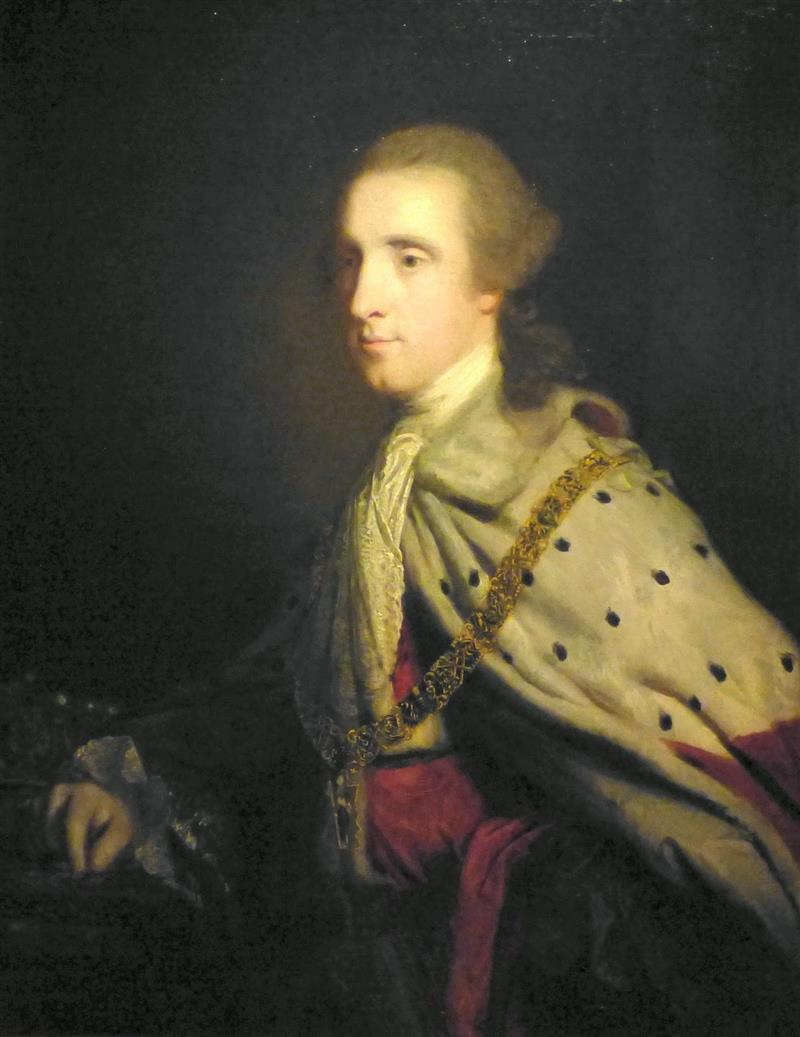 The Fourth Duke of Queensbury ('Old Q') as Earl of March ...