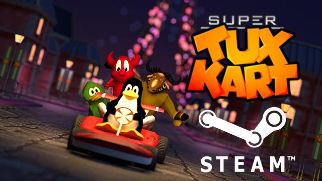 Hurrah! SuperTuxKart Has Been Greenlit on Steam! - OMG ...