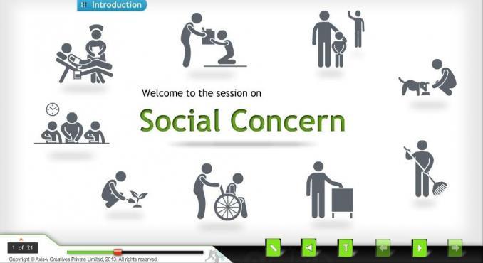 Social Concern Training Course by Axis-V Creatives ...