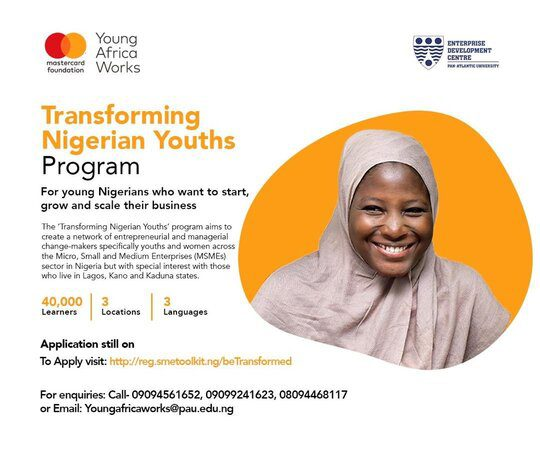 Young Africa Works-Mastercard Foundation/EDC Transforming ...