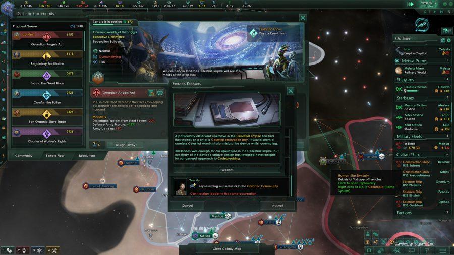 Stellaris: Nemesis review - begun, the endgame has | PCGamesN