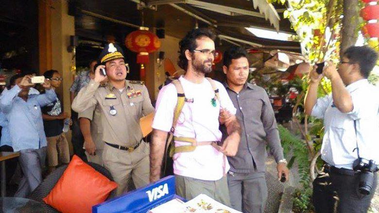 Deported activist Gonzalez-Davidson 'charged' | Phnom Penh ...