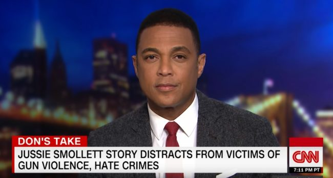 Don Lemon says his critics are motivated by homophobia and racism