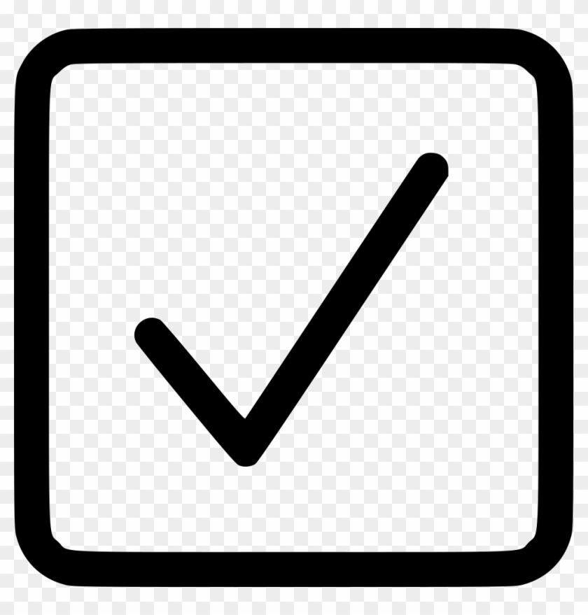 Checkbox Square Checked Comments - Check Box Png ...