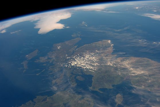 Spaceman captures Scotland from above | Press and Journal