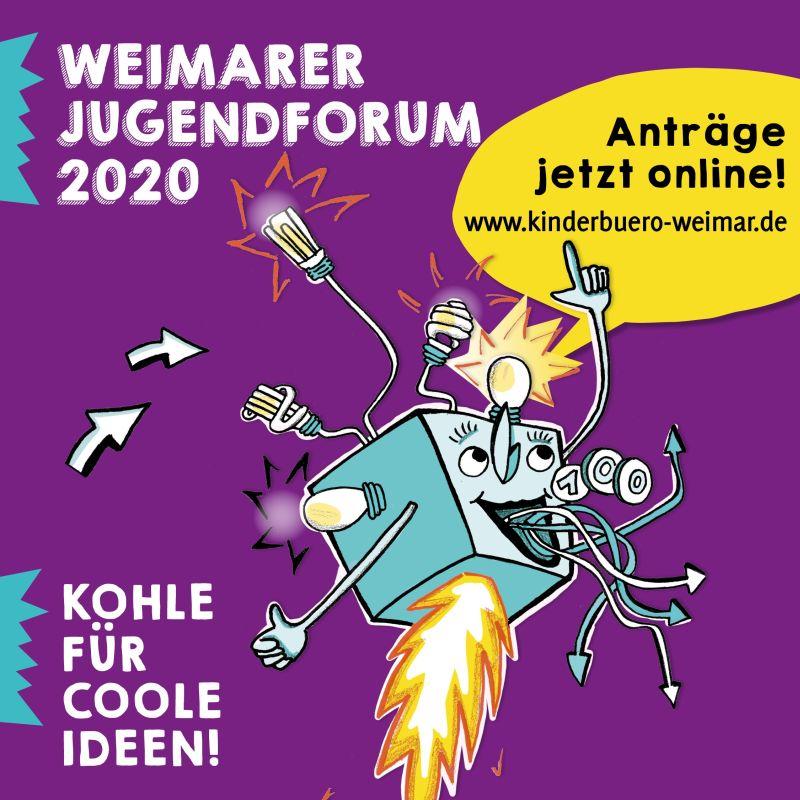 Jugendforum 2020 - Kohle für coole Ideen - Radio LOTTE Weimar
