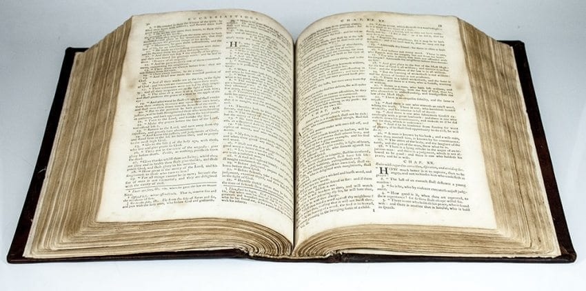 Bible First Catholic Bible 1790