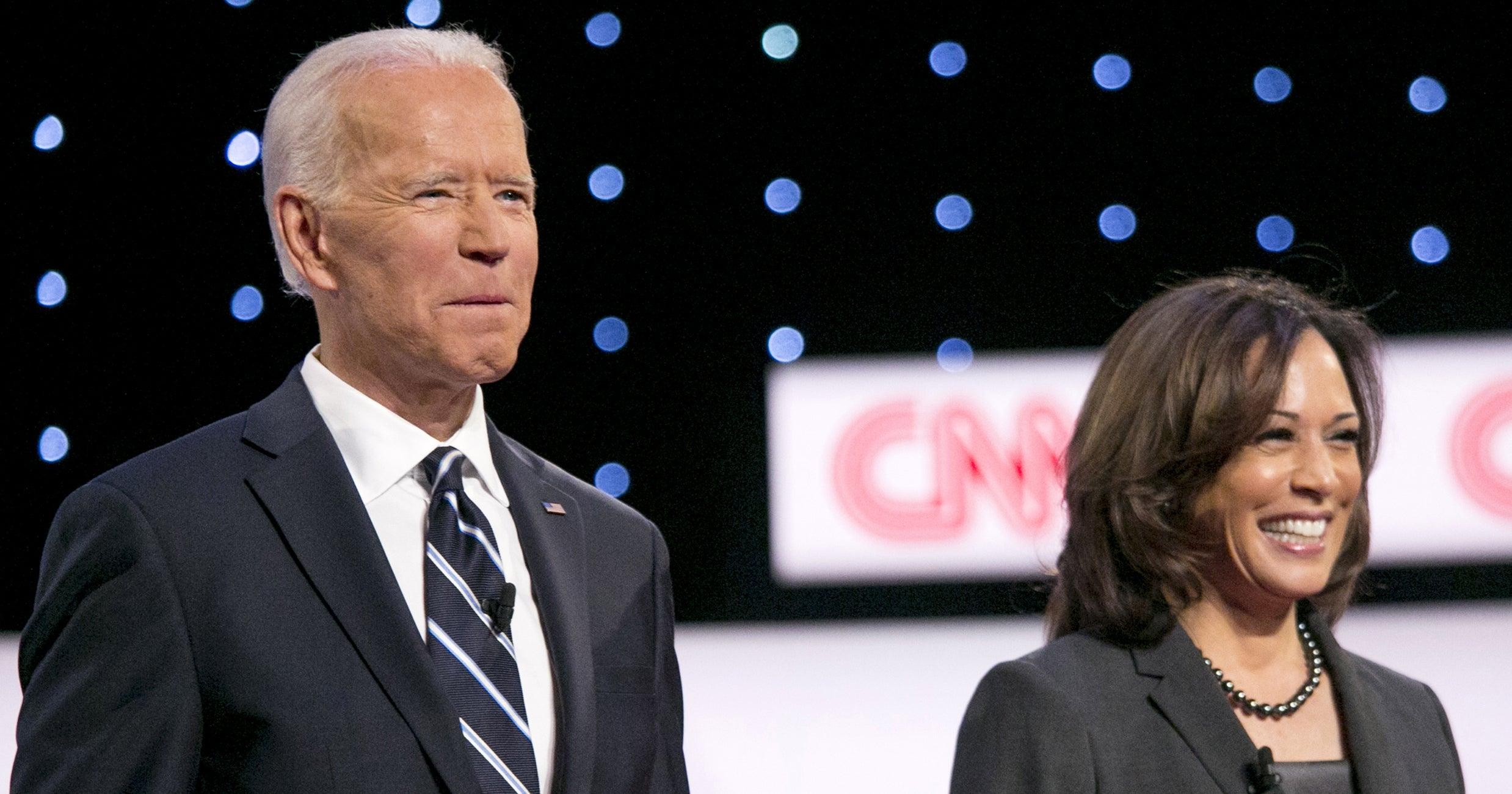 Biden's Notes Reveal What He Thinks Of Kamala Harris