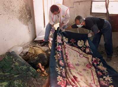 Israeli Massacre of Palestinians from March 29, 2002