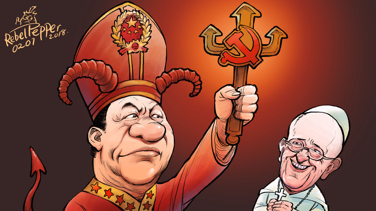 The Pope Genuflects Before China — Radio Free Asia