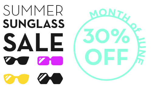 SUMMER SUNGLASS SALE // 30% OFF - Rancho Santa Fe Optometry