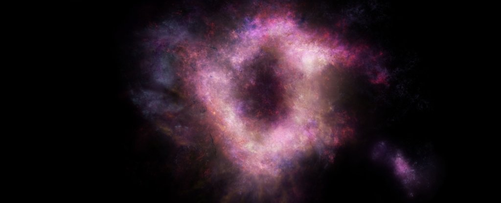 Extremely rare 'cosmic ring of fire' discovered in the early universe…