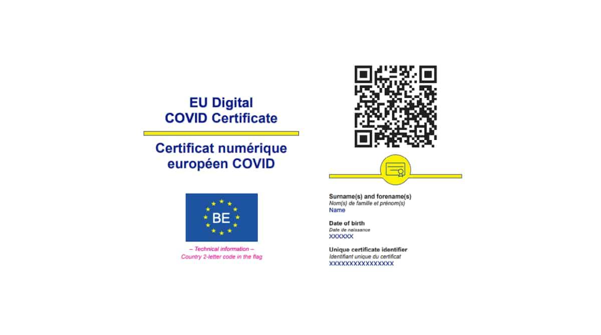 Le pass sanitaire : quelles informations le certificat ...