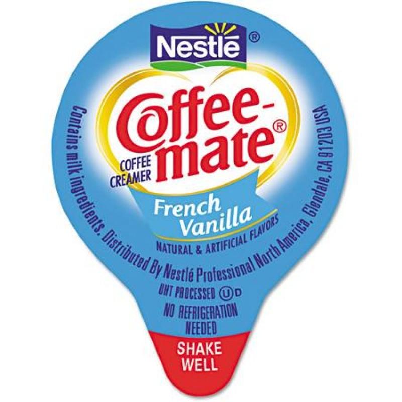 Coffee-mate French Vanilla Creamers - 180 Count (0.38oz) | Snackoree