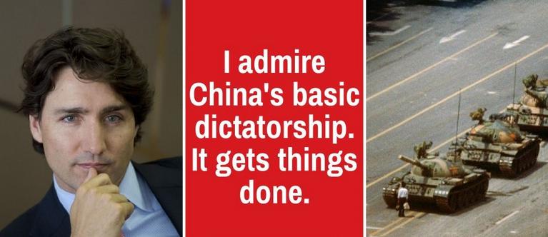 Trudeau Admires China's Basic Dictatorship - Spencer Fernando