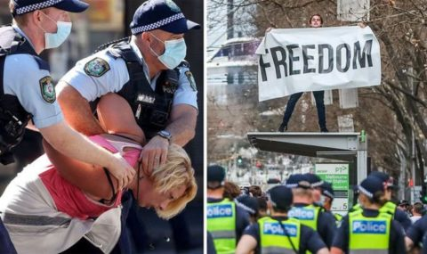 Australia lockdown protests: What is happening in ...
