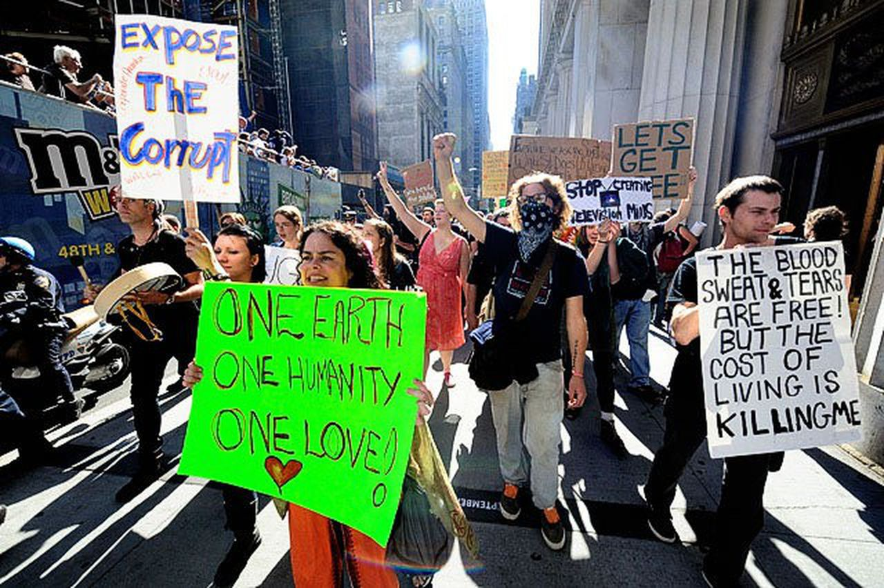What's going on: Occupy Wall Street protests take over ...