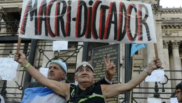 Argentina's Macri Wages Culture War to 'De-Kirchnerize ...