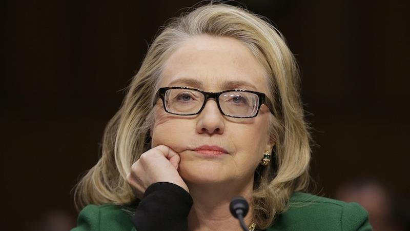 "... front-runner Hillary Rodham Clinton is ""liar,"" reported Hot Air"
