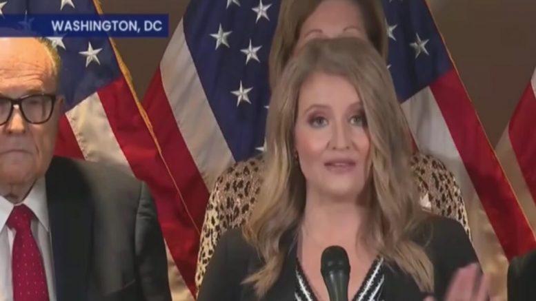 Trump Lawyer Jenna Ellis Schools The Media During ...