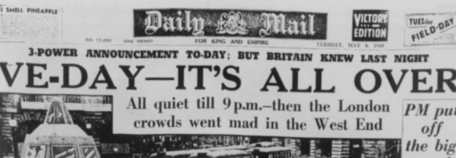 The History Press  Memories of VE Day