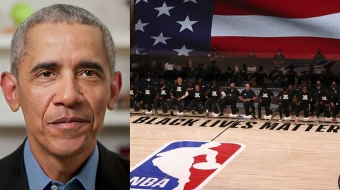 Barack Obama Praises NBA Players For 'Standing Up For What ...