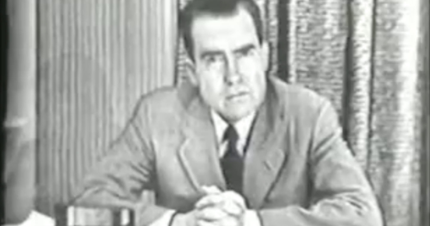 September 23, 1952: Richard Nixon Makes the 'Checkers ...