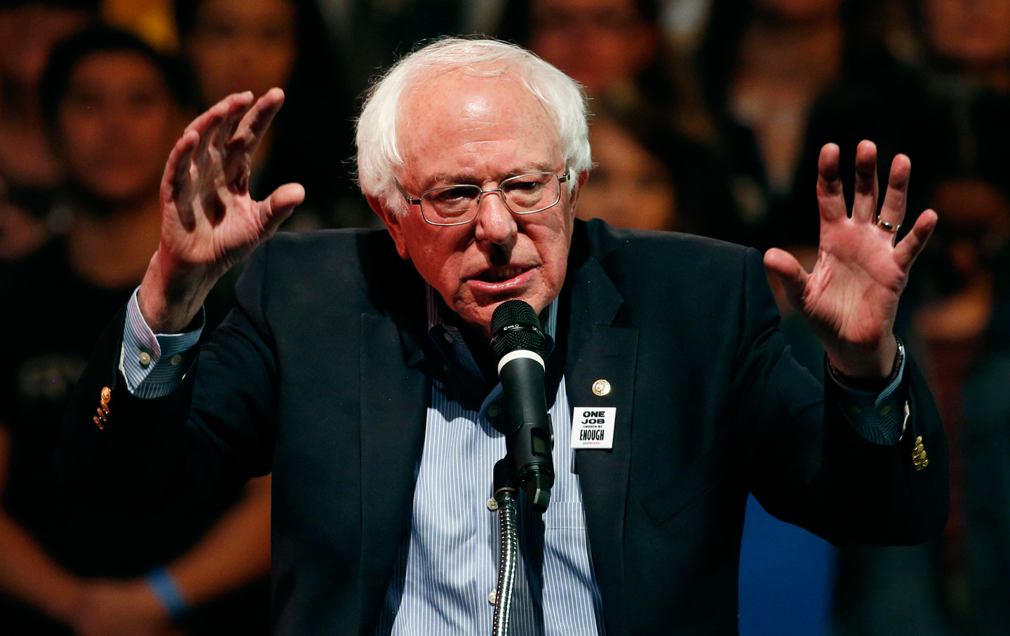 Bernie Sanders in NH: Admits 'Assault Weapons' Ban Is Just the Start…