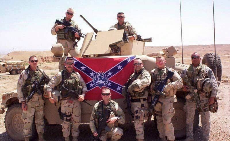 Marine Corps officially bans Confederate flags from all bases,  including depictions of flags such as on items like bumper stickers, clothing, posters, and mugs…