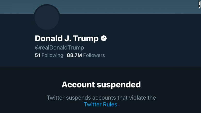 Donald Trump Twitter Account Suspended Permanently ...