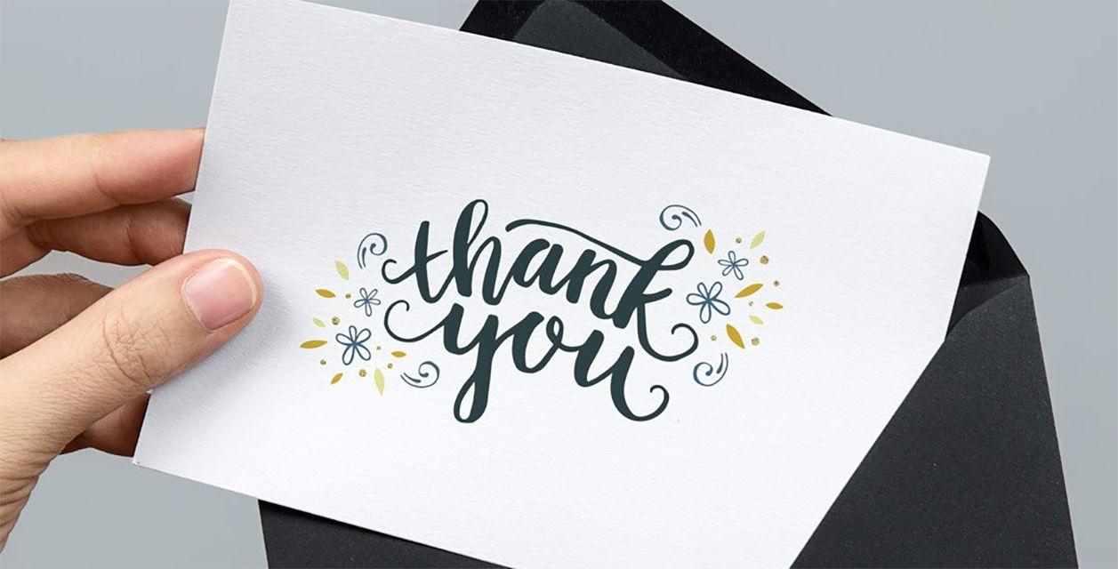 7 Free, Printable Graduation Thank You Cards