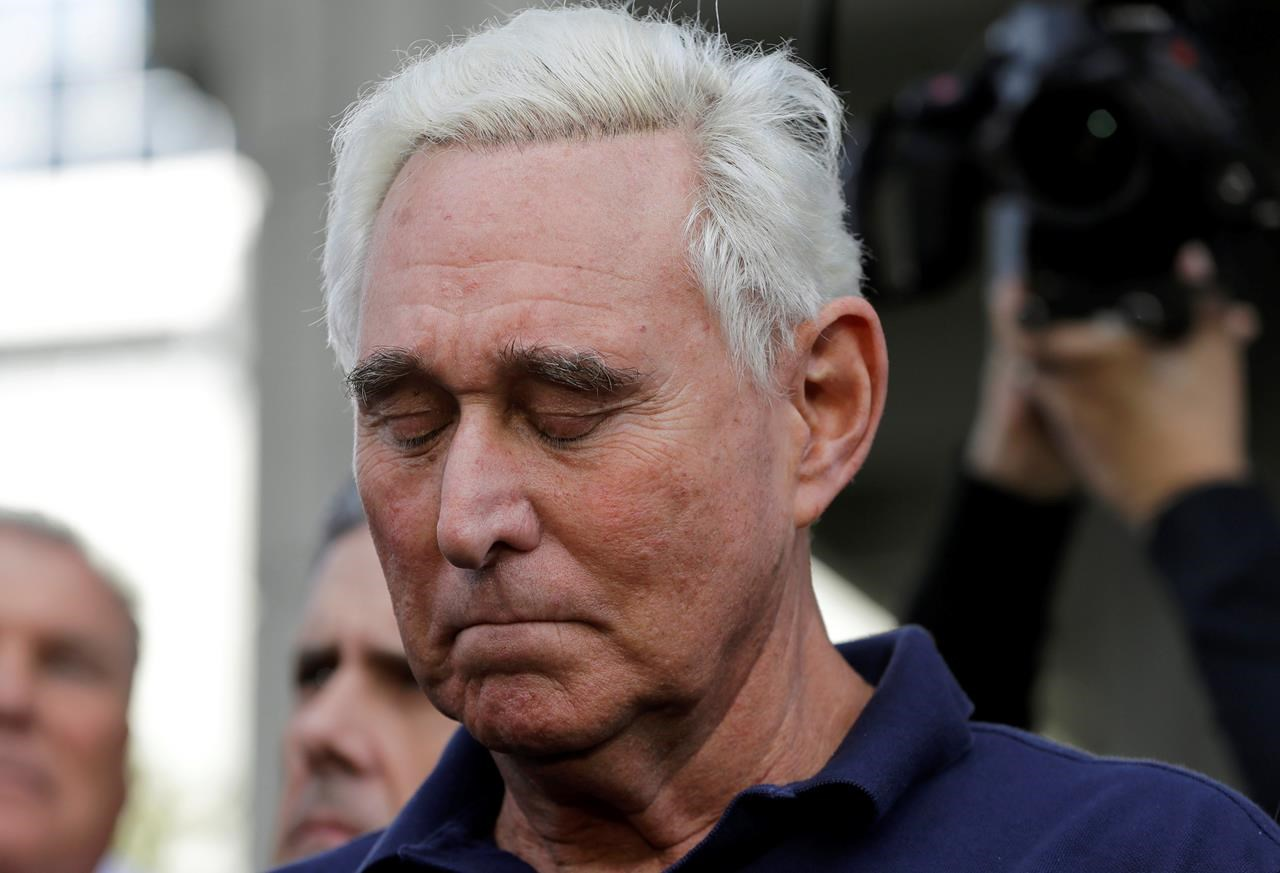 Prosecutors want Roger Stone to serve more than 7 years in prison…