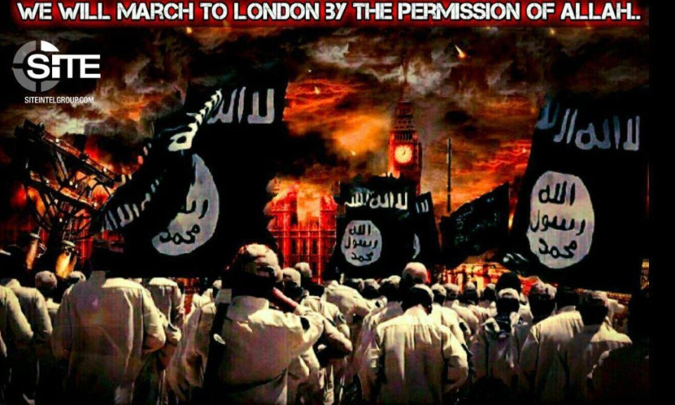 Sick ISIS supporters post chilling images of London on ...