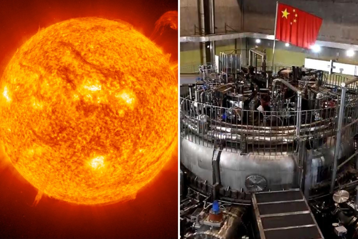 """China is about to fire up its """"artificial sun"""" in quest for fusion energy…"""